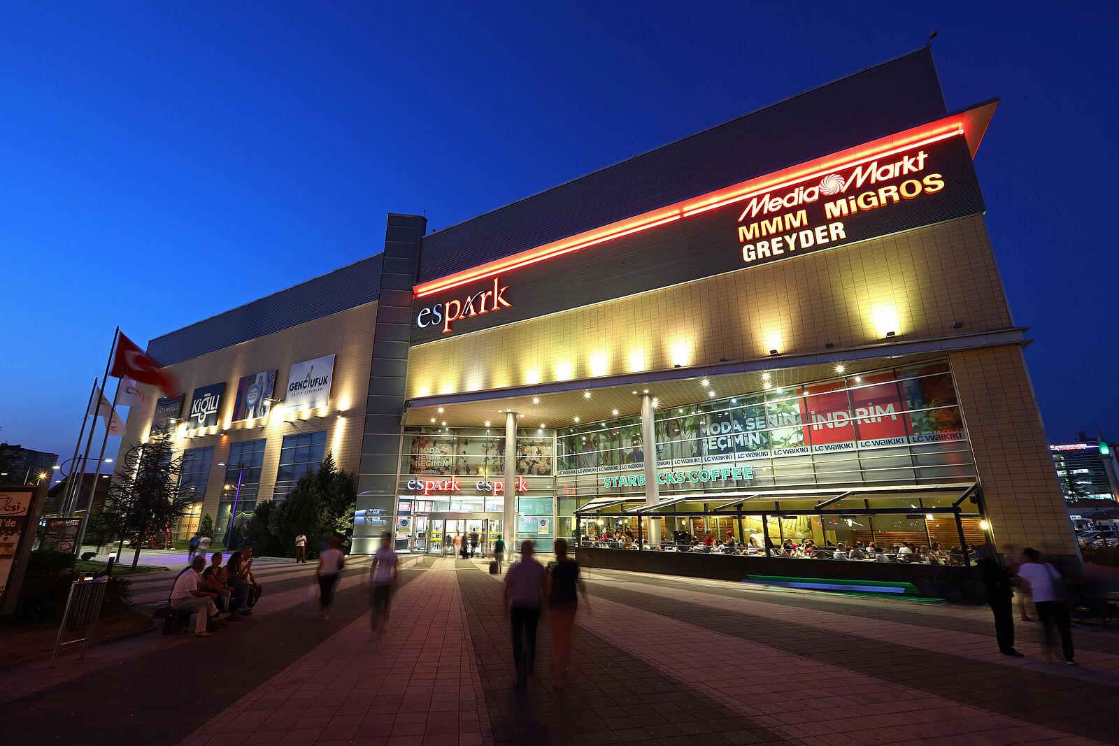 2875fa40d8494 Espark Alışveriş Merkezi Eskişehir   Espark